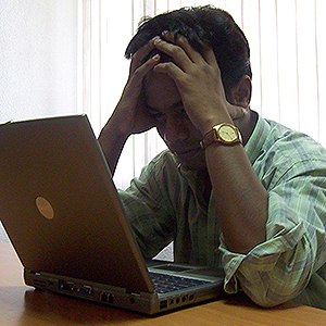 Frustrated Web site owner