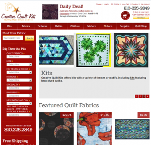 Creative Quilt Kits site
