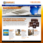 Energy Battery Web site